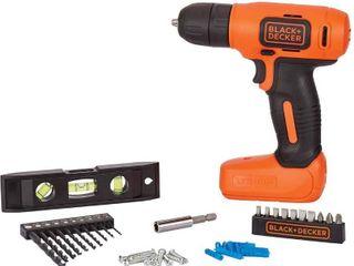 BlACK DECKER 8V MAX Home Tool Kit