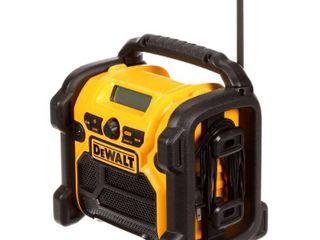 DEWAlT 20V MAX 18V 12V Jobsite Radio