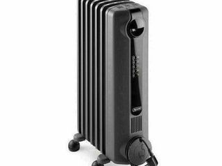 Delonghi 1500 Watt Oil filled Radiant Compact Personal Electric Space Heater