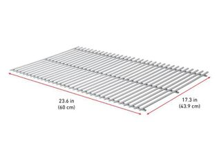 BBQ Grill Weber Grill 2 Piece Stainless Steel Grates 17 1 4 in X 23 1 2 in BCP7639 OEM