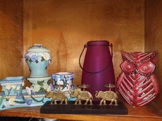 lot Of 4 Assorted Household Decorations