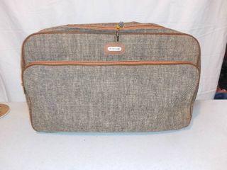 Vintage Samsonite Special Collection Tweed Travel Bag