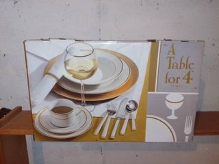 48 Piece Set Of Dishes In Box
