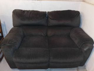 Nice Double Reclining loveseat Could Use Some TlC