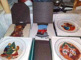 lot Of 5 Assorted Collectors Plates