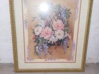 Barbara Mock Floral Art Print
