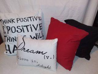 lot of 4 Pillows