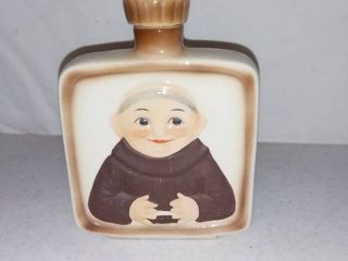 Vintage Goebel Friar Flask With Stopper