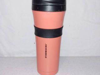 Metal Starbucks Travel Coffee Mug