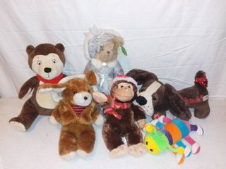 lot of Stuffed Animals
