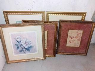 lot of 5 Art Prints