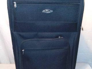 Destinations large Black Rolling Suitcase