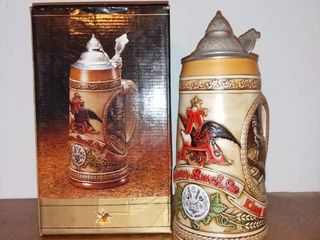 Anheuser Busch Tomorrows Treasures Stein With Box 1985