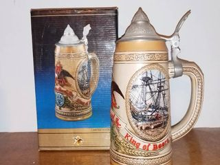 Anheuser Busch Tomorrows Treasures Stein With Box limited Edition III 1986