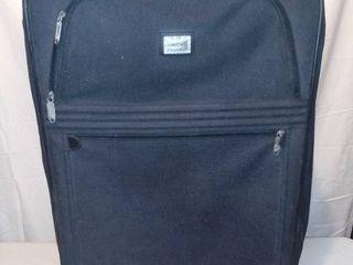 Medium Forecast Black Rolling Suitcase