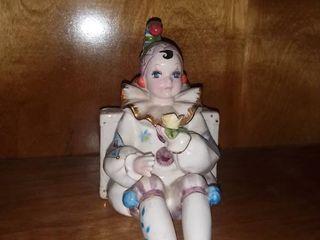 little Clown Figurine Music Box