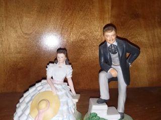 Porcelain Figurine Couple Avon