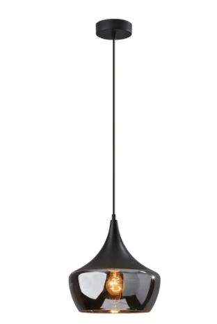 Adesso Black Eliza Pendant lamp  Retail 128 99