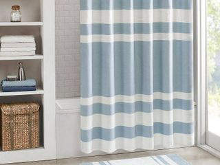 Home Essence Spa Waffle Shower Curtain with 3M Treatment