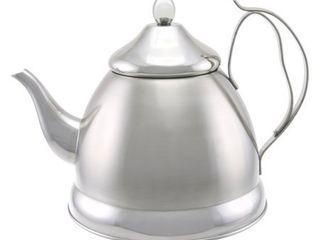 Creative Home Nobili Tea 2 qt  Stainless Steel Tea Kettle with Tea Infuser