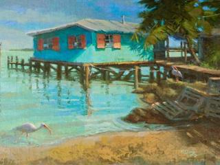 Masterpiece Art Gallery   Waterfront Beach House   24  x 36