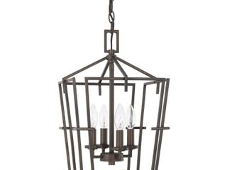 Capital lighting 522142 4 light 12  Wide Taper Candle Pendant