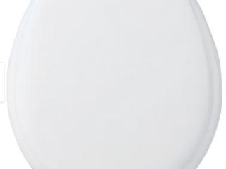 17  Round Soft Cushion White Toilet