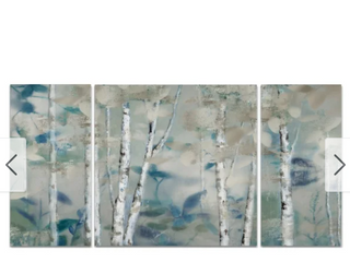 Zen Forest Multi Piece Art