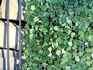 Aleko 94  x 39  Faux Ivy Privacy Fence Screen Artificial Hedge Vine Outdoor Decorative Trellis