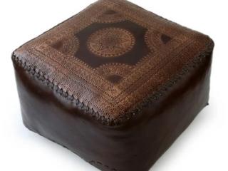 Handmade Moon Polished Soft Brown leather