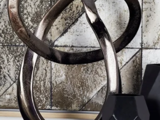 Strick   Bolton Buri Abstract Aluminum Sculpture