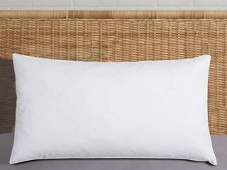 Harper lane Jumbo Size King Bed Pillow   White Set of 2