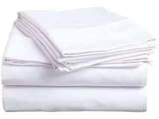400 Thread Count 100  Egyptian Cotton Deep Pocket Bedding Sheets   Pillowcases  4 Piece Sheet Set By Impressions  King