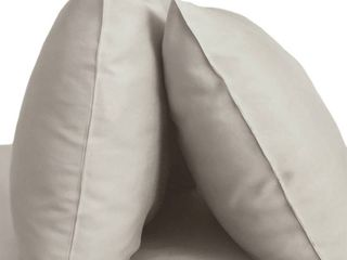 Standard 2pk 400 Thread Count 100  Rayon from Bamboo Resort Pillowcase Set Gray   Cariloha