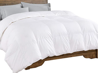 Dreamhood White Down Comforter  Full Queen  White Goose Down   FWather Comforter