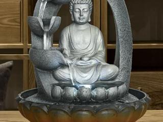 Buddha Fountain Fengshui Zen Meditation