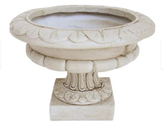 Stefano Roman Botanical lightweight Concrete Chalice Garden Urn Planter by Christopher Knight Home