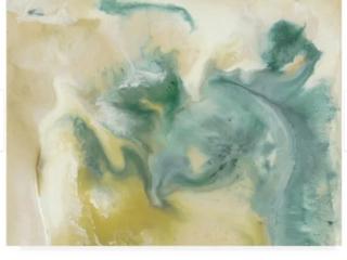 lila Bramma Emerald Tablets I Wrapped Canvas 24  x 32