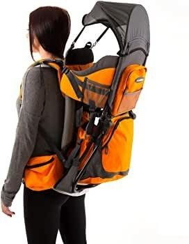 luvdbaby Premium Baby Backpack Carrier for Hiking with Kids a Carry Your Child Ergonomically