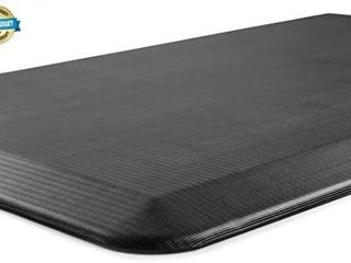 Anti Fatigue Floor Mat a 3 4 Inch Thick Perfect Kitchen Mat  Standing Desk Mat a Comfort at Home  Office  Garage a Durable a Stain Resistant 68x 23