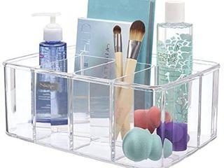 Clear Plastic Organizer   6 Compartments