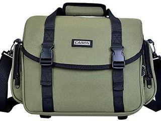 CADeN Camera Bag Case Shoulder Messenger Bag with Tripod Holder Compatible for Nikon  Canon  Sony