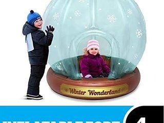 snow globe fort