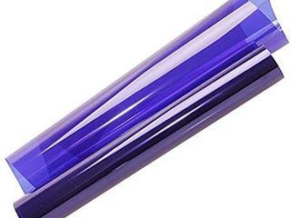 HOHOFIlM 60 x20  Colored Window Film Clear Decorative Glass Tint Sun Blocking Heat Control Self Adhesive Window Tint