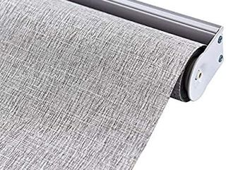 AllBRIGHT 100  Blackout Roller Shades for Windows UV Protection Roller