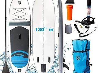 NOBRANDS Inflatable Stand Up Paddle Boardi1 4130 30 6 with Premium SUP Accessories   Backpack   Pump
