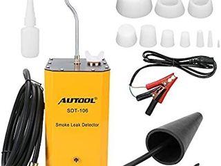 AUTOOl SDT 106 Automotive Diagnostic Fuel leak Detectors EVAP Pipe leakage Tester locator For 12V Vehicles Smoke leak Detectors