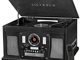 Victrola 8 in 1 Bluetooth Record Player   Multimedia Center