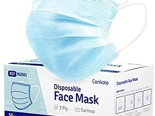 Conkote Disposable Blue Face Mask 50 Pcs