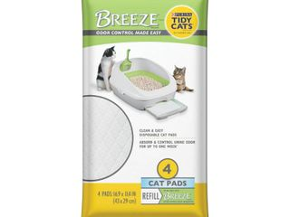 Purina Tidy Cats Cat Pads  BREEZE Refill Pack  4 ct  Pouch